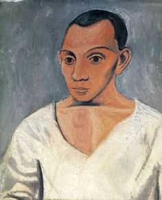 Image detail for -Self-Portrait - Pablo Picasso - WikiPaintings.org