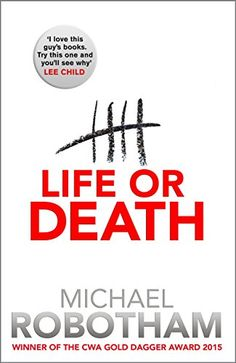 Life or Death by [Robotham, Michael]. Winner of the CWA Gold Dagger Award 2015. Why would a man escape from prison the day before he's due to be released? A gripping read. I enjoyed it.