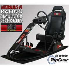 hotseat racer gt racing simulator racing simulator pinterest. Black Bedroom Furniture Sets. Home Design Ideas