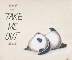 LOL so cute! Really, I can't look at pandas too long before I squeal and jump and down :)