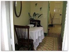 Detalle del comedor. Cuba, Colonial, Bed, Furniture, Home Decor, Havana, Dining Room, Decoration Home, Stream Bed