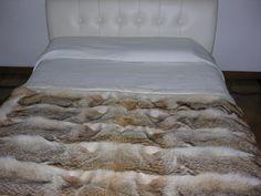 Coyote fur bed cover - dellera.com
