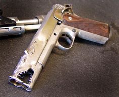 Custom 1911 pistol from Marc Krebbs
