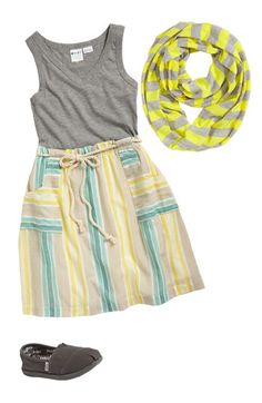 Roxy Knit Dress & Erge Designs Infinity Scarf (Big Girls) | Nordstrom