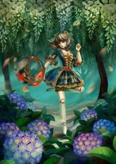There are wallies for download in the deviantart post. Enjoy!   LOL - Rococo Orianna by LamierFang.deviantart.com on @deviantART