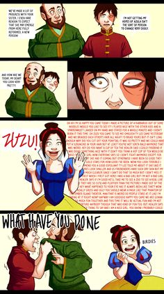 new and improved by ~ichthyosaurus on deviantART. See? Zuko does care about Azula!