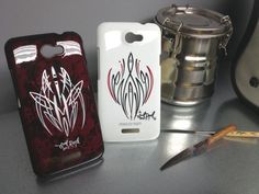 Pinstriped cell phone covers!!