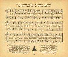 O Christmas Tree O Tannenbaum - KnickofTime.net