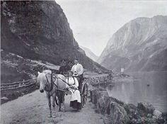 fjord Bei Gudvangen - Norway
