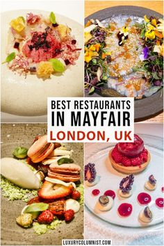 Best Restaurants in Mayfair London including British French Chinese Japanese and Mexican food Mayfair London, Good Foods To Eat, Things To Do In London, American Food, London Travel, Foodie Travel, Places To Eat, Fine Dining, Street Food