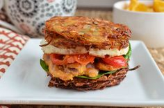 Slimming Eats Syn Free Hash Brown Breakfast Sandwich - gluten free, dairy free, vegetarian, Slimming World and Weight Watchers friendly Slimming World Lunch Ideas, Slimming World Breakfast, Slimming World Recipes Syn Free, Slimming World Diet, Slimming Eats, Slimming World Hash Brown, Slimming World Pancakes, Gluten Free Recipes For Breakfast, Vegetarian Recipes