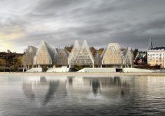 modern architecture | Guggenheim Helsinki, Labics  | www.bocadolobo.com #modernarchitecture #modernbuildings