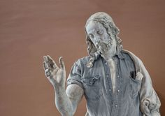 Classical sculptures dress as hipsters | Leo Caillard
