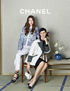 Yumi & Stella for Chanel S/S 2013 ♥ via Tumblr