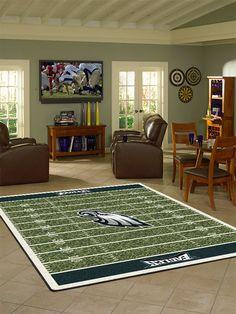Philadelphia Eagles NFL Team Home Field Rug