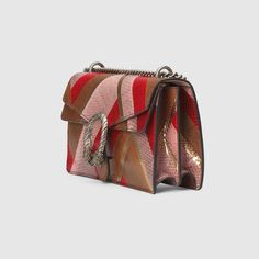 Shop the Gucci Official Website. Browse the latest collections, explore the campaigns and discover our online assortment of clothing and accessories. Gucci Fashion, Luxury Fashion, Clutch Purse, Coin Purse, Gold Chevron, Gucci Handbags, Leather Shoulder Bag, Dionysus, Nice Dresses