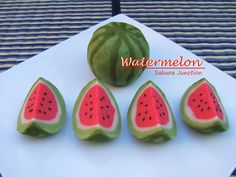 Watermelon Wagashi