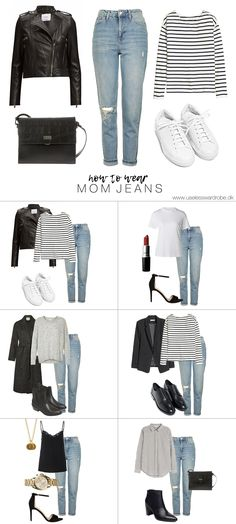 How to wear: mom jeans.(Favorite Pins Mom)