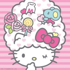 Hello Kitty / Have a sweet weekend!