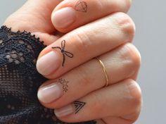 Knuckle Ring aus 333er Gelbgold
