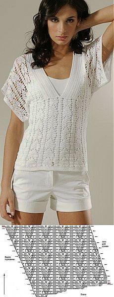 Вязание: блузка