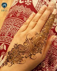 Beautiful Henna Designs, Best Mehndi Designs, Simple Mehndi Designs, Henna Tattoo Designs, Mehndi Designs For Hands, Wrist Henna, Hand Henna, Henna Mehndi, Mehendi