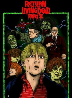 Return of the living dead 2 Horror Movie Zombies