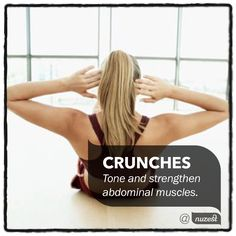 Want a toned tummy for Summer? Regular crunches can help you tone and strengthen the muscles in your abdomen. Try 20-40 reps daily for fast results. To perform a crunch properly, lie on your back, tighten your abdominal muscles and lift your head and shoulders upwards. #nuzest #NuzestExerciseTip #crunches