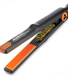 A professional flat iron heats up very quickly and provides very hot, even temperature along the plates for healthy, shiny hair. NEW version features higher temperature to 430F and dual voltage. SALE $78 reg $150