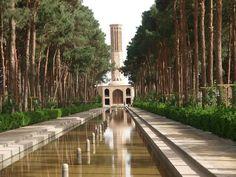 Dolat abad garden, Yazd, Iran Iran Traveling Center http://irantravelingcenter.com #iran #travel