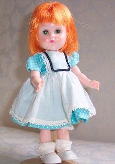 Popular 1950s Dolls | 1960 Wee Imp Ginny Doll