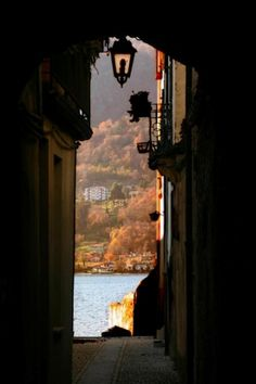 Lago d'Orta! I remember this place perfectly, 'cause that's where I fell in love with Italy :)