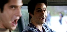 "dylan-source: ""Dylan O'Brien in Teen Wolf Season 6A's gag reel """