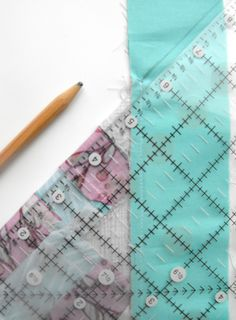 Another great tutorial for mitered corners. Uses less fabric than others and is really easy to follow. I'll use this when I do my quilt borders.