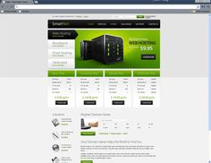 Hosting Free template h