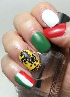 Expensive Italian car nails