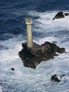 ✯ Longships Lighthouse, Land's End, Cornwall