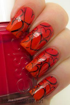 The Nail Polish Project VALENTINE #nail #nails #nailart