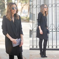 Get this look: http://lb.nu/look/7966968  More looks by Besugarandspice FV: http://lb.nu/besugarandspice  Items in this look:  Christian Dior Sunnies, Zara Dress, Mango Boots, Dayaday Clutch, Bulgari Ring   #casual #chic #street
