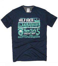 T-Shirt Tommy Hilfiger granatowy | DB Adam Radzicki - BigSales.pl