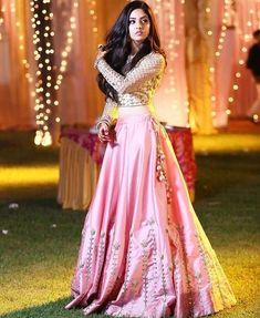 Pink Colour Taffeta And Silk Fabric Party Wear Lehenga Choli Comes With Matching Blouse. This Lehenga Choli Is Crafted With Embroidery. This Lehenga Choli Comes With Unstitched Blouse Which Can Be Sti. Lehenga Choli Designs, Ghagra Choli, Indian Lehenga, Pink Lehenga, Net Lehenga, Indian Wedding Outfits, Indian Outfits, Eid Outfits, Ethnic Wedding