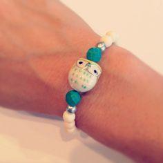 Owl bracelet teacher gift by AroundMyWrist on Etsy, 10.00