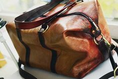 Bloody Mary large bag / Halloween leather sport and travel