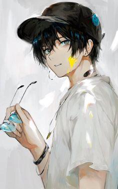 Anime Boys, Dark Anime Guys, M Anime, Cool Anime Guys, Hot Anime Boy, Handsome Anime Guys, Anime Art Girl, Kawaii Anime, Anime Boy Drawing