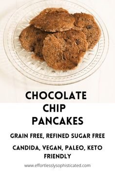 Chocolate Chip Pancakes - Curated by Jennifer
