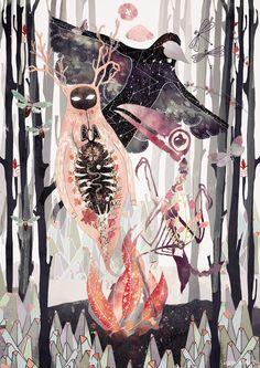 Jungle meetings! Illustration by Svabhu Kohli