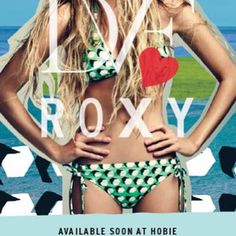 Roxy+DVF+Hobie=Gorgeous You!!!! The #DVF collection for #Roxy drops into our shops and online 3/7... Be ready!! #hobie #surfshop #surfer #surf #bikini #lagunabeach #danapoint #coronadelmar #sanclemente #beach #sun #fun #dianevonfurstenberg www.hobiesurfshop.com