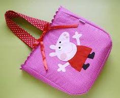 Image result for bolsa de tecido infantil