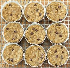 Chocolate Covered Katie is the master of making decadent ideas into healthy realities. We salute her, and these Breakfast Oatmeal Cupcakes To Go!