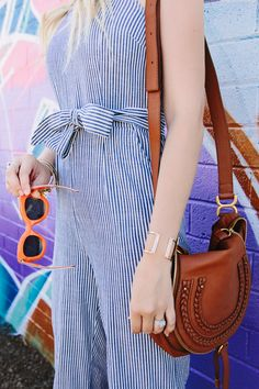 EFFORTLESS STRIPE JUMPSUIT Dash of Darling waysify